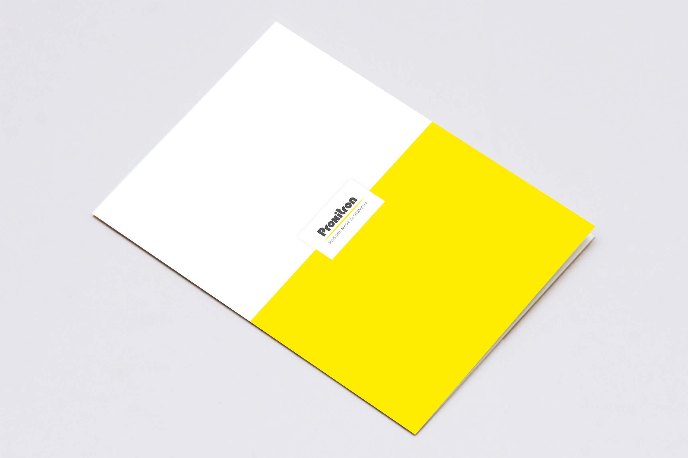 Broschüre Für Firma Proxitron Aus Elmshorn
