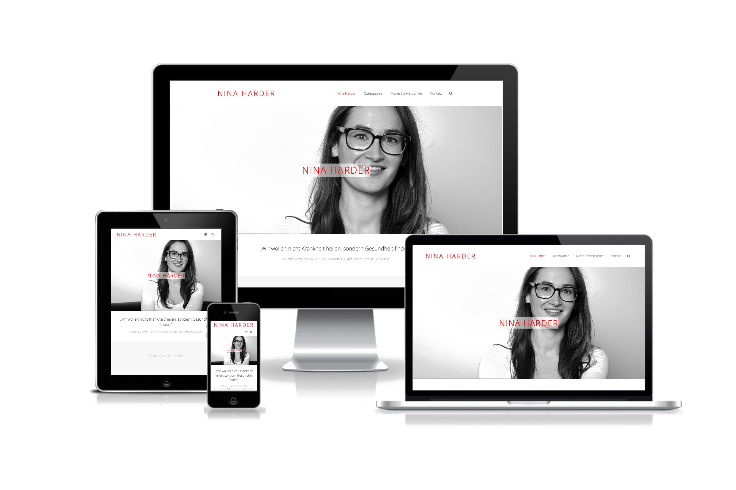 Responsive Webdesign, Wordpress by WIWA Design