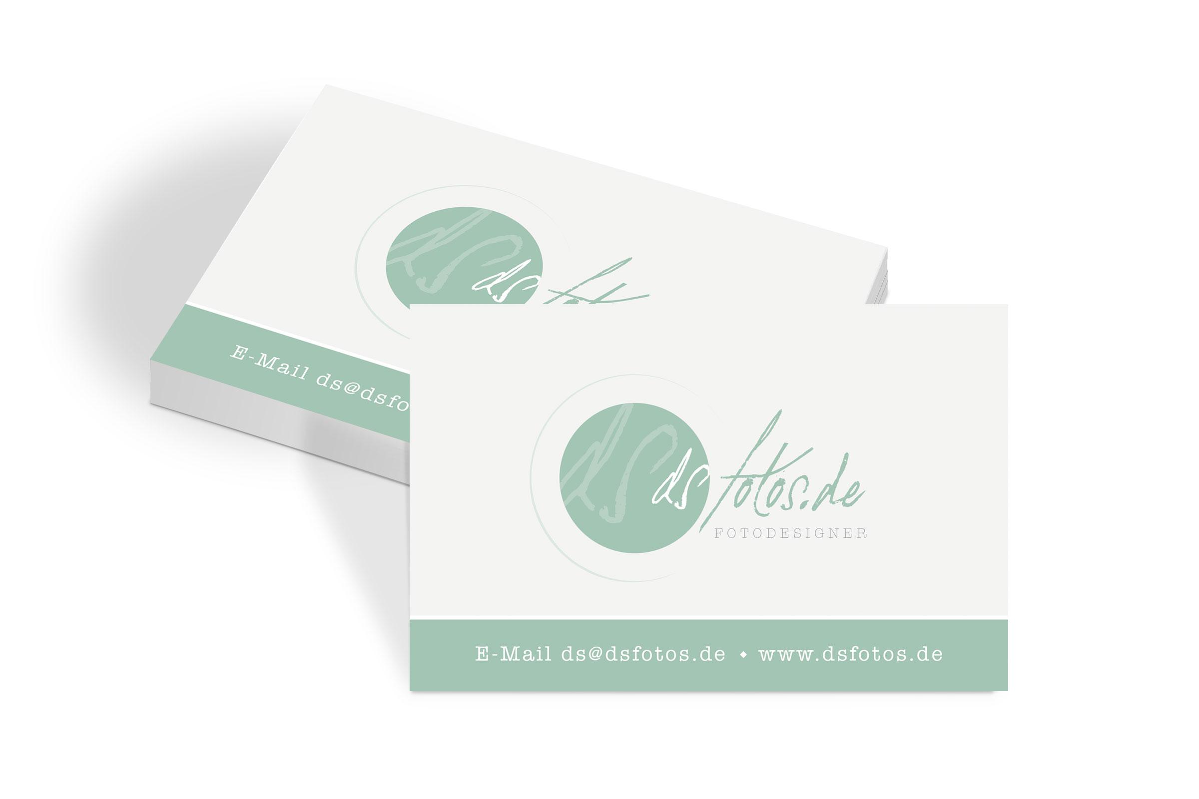 Visitenkarten für dsfotos.de by WIWA Design