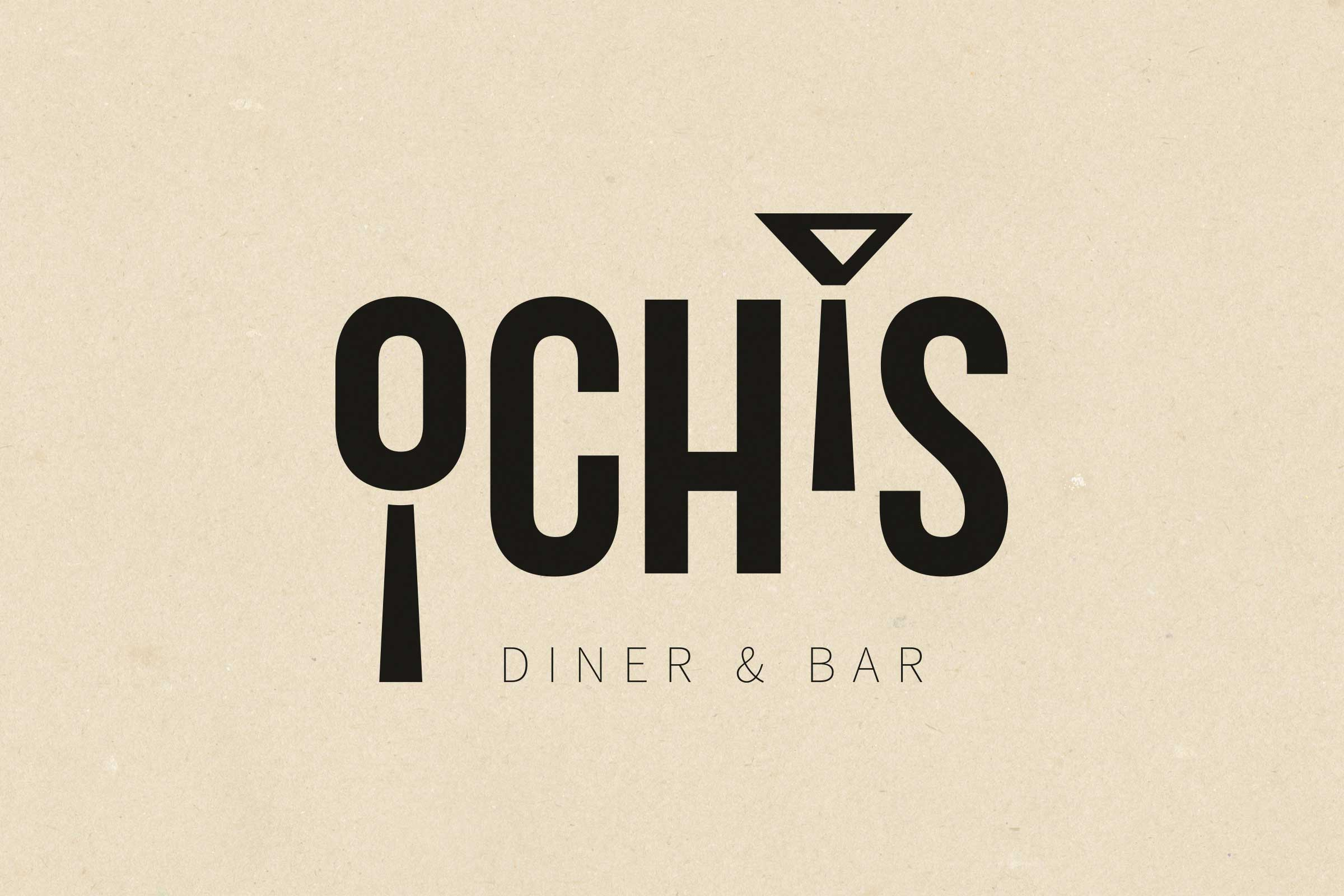 Logo-Kreation: Ochis, Diner & Bar