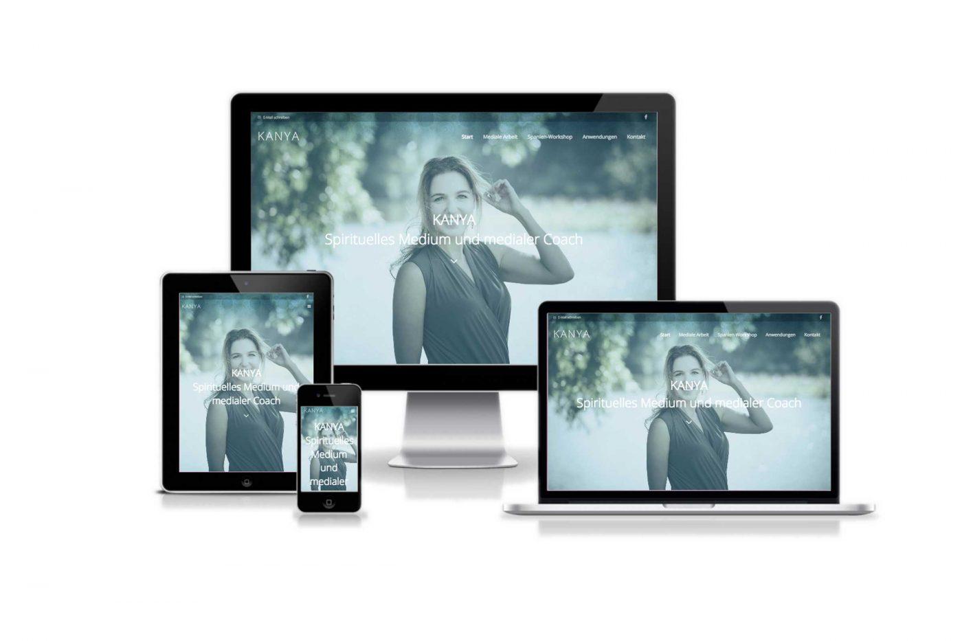 KANYAs Website by WIWA Design