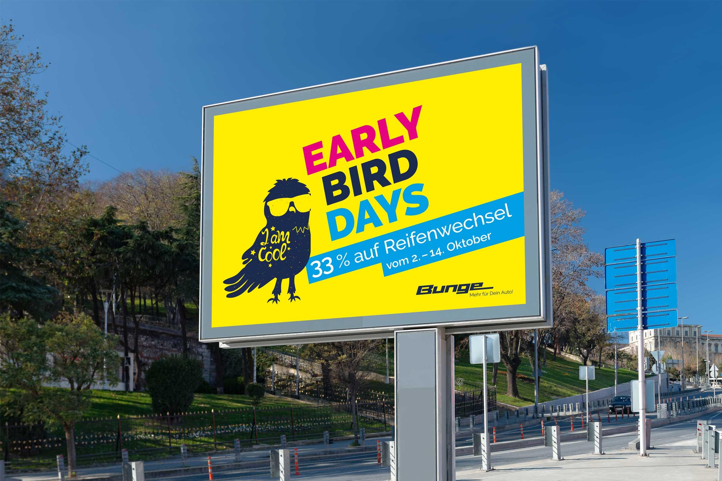Early Bird Days, 18eintel