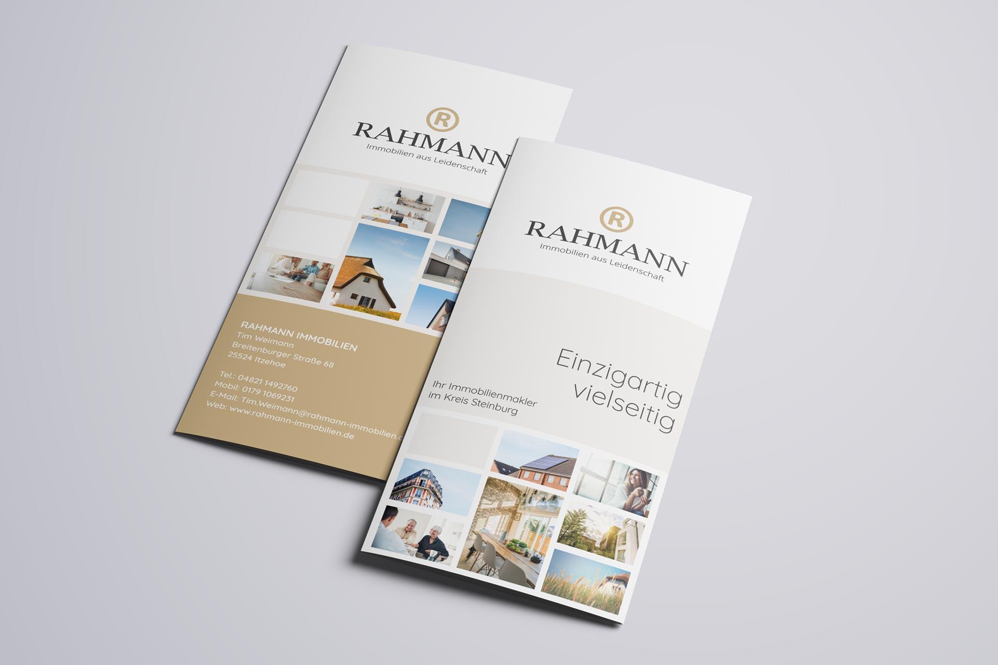Flyer Rahmann Immobilien