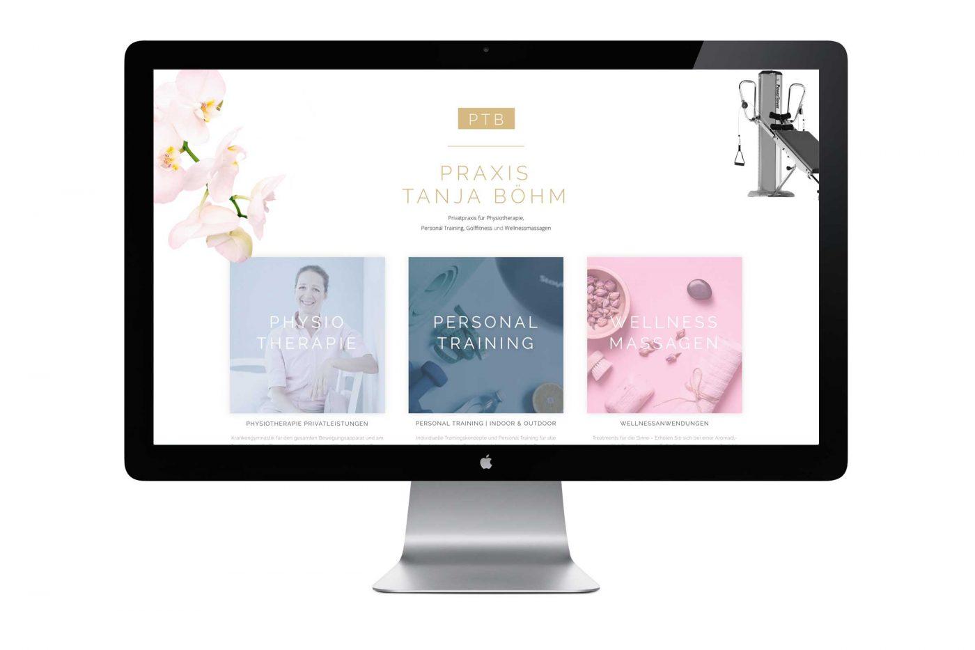 Webseite Praxis Tanja Böhm
